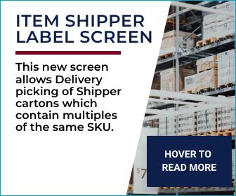 item shipper labels